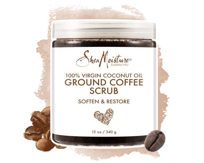 Shea Moisture Coffee Scrub