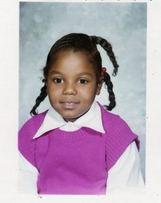 Janet Jackson Early School Pic